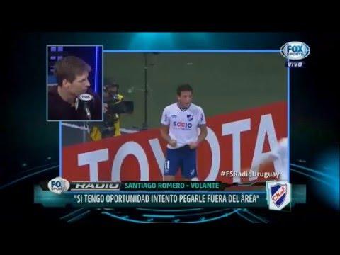 El Colo Romero y Barcia en Fox Sports Radio Uruguay.