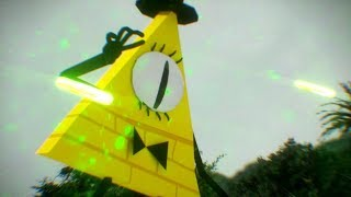 ★ RICK SANCHEZ vs BILL CIPHER ★.- 3D ANIMATION | FIGHT