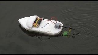 Bagaimana membuat perahu listrik   produk kreatif
