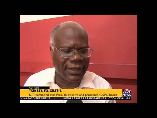 Tsikata ex Gratia - AM Talk on Joy News (01-12-15)