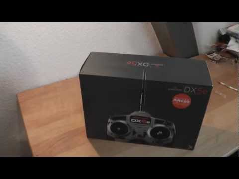 Spektrum DX5e Unboxing/First Look HD (German)