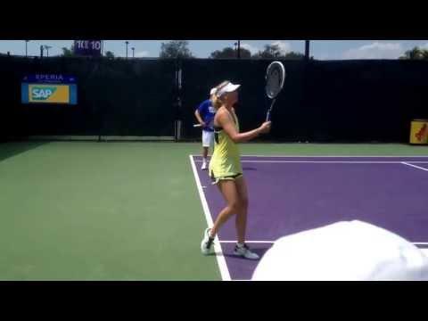 Maria Sharapova practice at Sony Open 2013 Miami, Fla