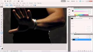 Photoshop CS5 - Výber postavy - Nástroj Pero