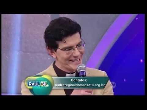 Padre Reginaldo Manzotti participa do programa Raul Gil
