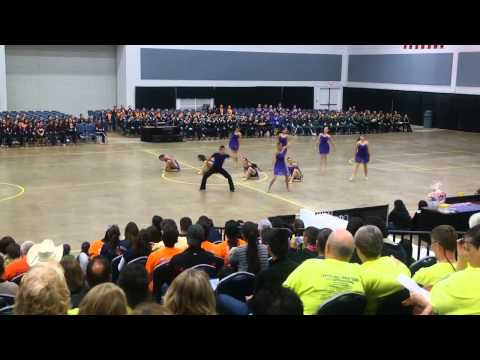 Lopez High School Golden Stars Officer Modern at ADTS Competition 2014