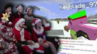 SpongeBob Christmas! - Minecraft Christmas AWESOME! - Part 18