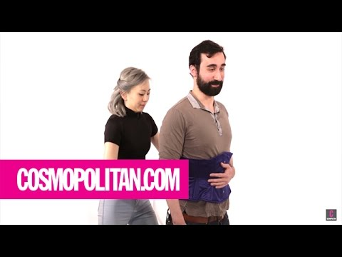 Guys Try Out Waist Training | Cosmopolitan