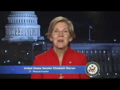Elizabeth Warren's Remarks at the Dukakis Center 15th Anniversary Gala