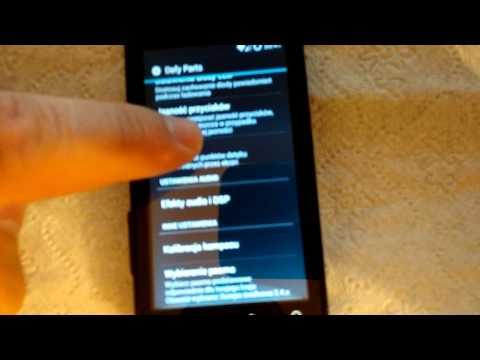 Motorola Defy KitKat 4.4.4 (CM11 by Quarx)