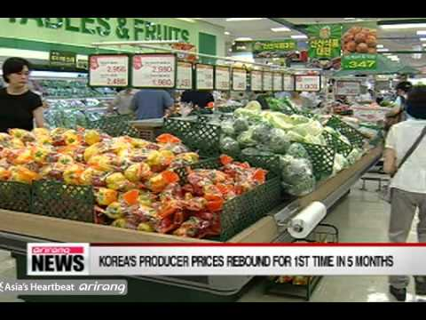 Producer Prices Rebound in August Due to Higher Produce Costs [Arirang NEWS]