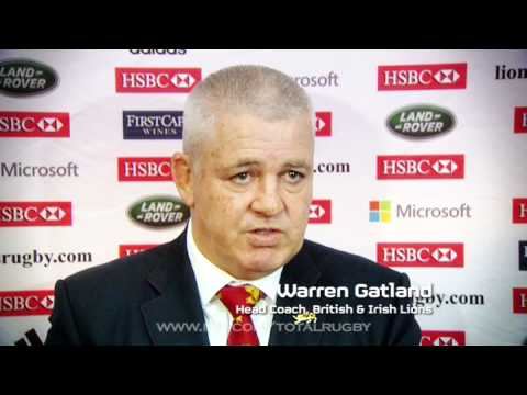 Lions Squad 2013 announcement - Total Rugby