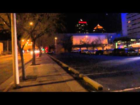 Night Tour of Downtown Albuquerque, NM