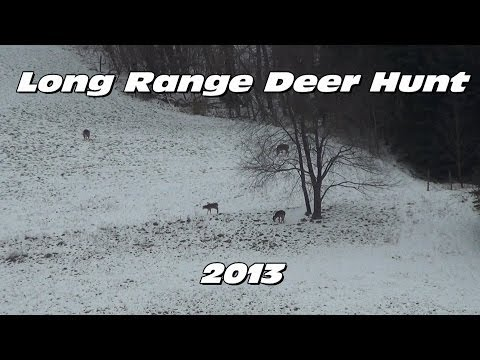 Long Range Rifle Deer Hunting 2013