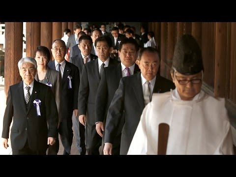 Japanese Lawmakers Place Tradition Above Diplomacy During War Shrine Visit (LinkAsia: 4/25/14)