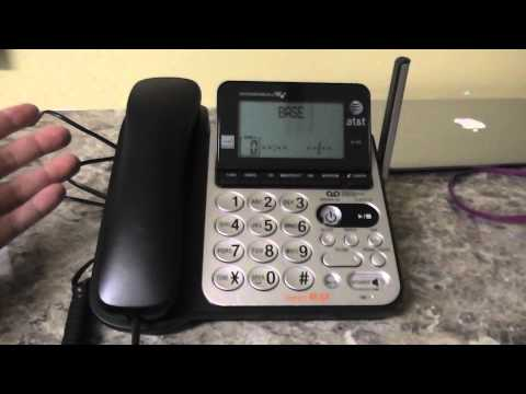 AT&T 84100 DECT 6.0 Corded/Cordless Phone Review