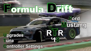 Forza Motorsport 7 Drift Ford #25 Mustang RTR '18 ++ Upgrades/Tune/Controller Settings