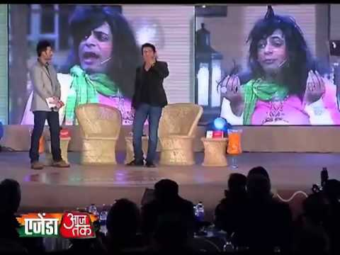 Agenda Aajtak 2013: Sunil Grover aka Gutthi shared his life on Aagenda Aajtak