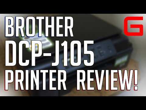 Brother DCP-J105 InkBenefit review!