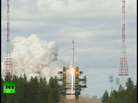 Blast off video: Russian