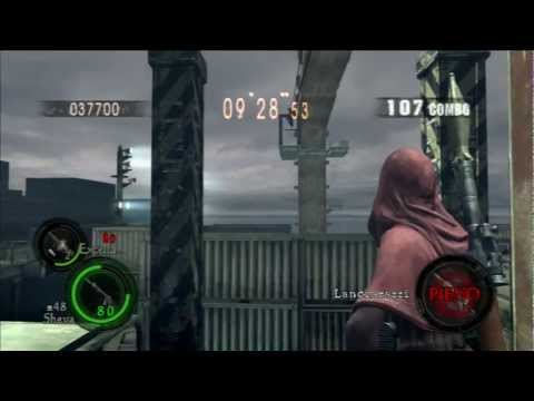re5 mercenaries reunion ship deck 1109177 excella+sheva