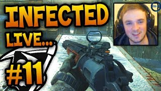"""CAN I GO HERE?"" - Road To - KEM Infected #11 LIVE w/ Ali-A! - (Call of Duty: Ghost Gameplay)"
