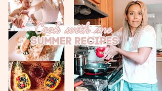 *NEW* SUMMER COOK WITH ME 2020| Easy Toddler Snacks & More| Tres Chic Mama
