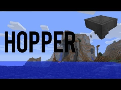 How To Make And Use A Hopper In Minecraft