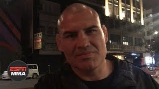 Cain Velasquez talks WWE SmackDown appearance vs. Brock Lesnar | ESPN MMA