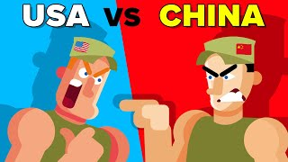 American (USA) vs Chinese Soldiers - How Do They Compare | Military / Army Comparison