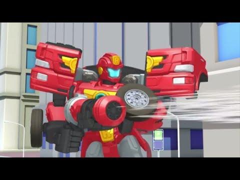 Тоботы новые серии - 4 Серия 3 Сезон - мультики про роботов трансформеров [HD]
