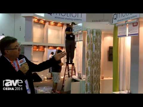 CEDIA 2014: Q-Motion Shades Gives rAVe a Preview of Its Booth