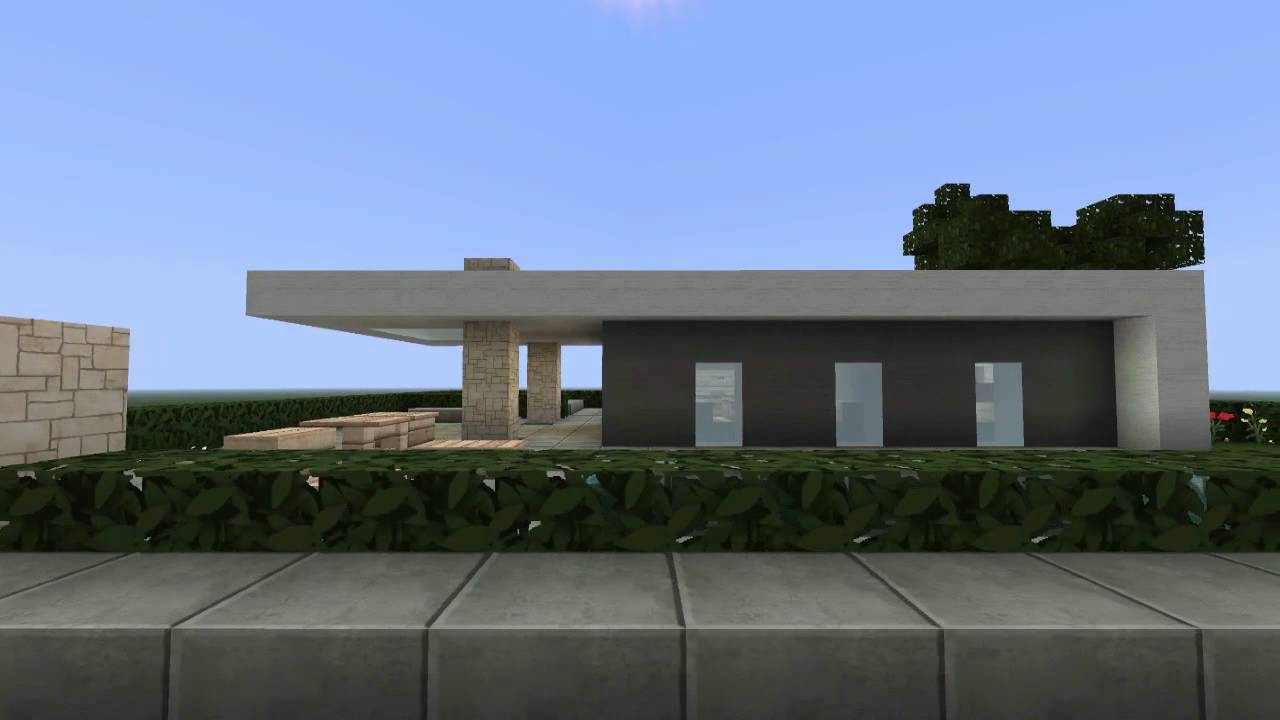 minecraft small modern house hd nord city youtube
