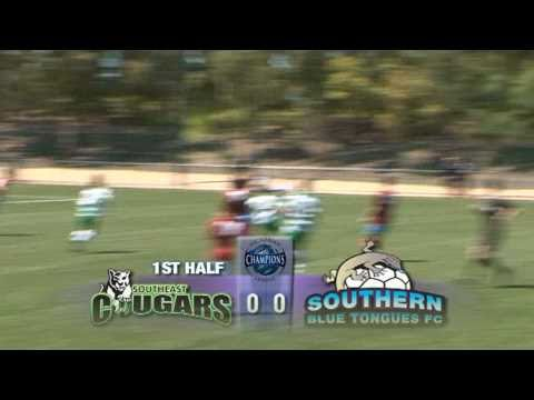 FFV Victorian Champions League - Round 1 - South East Cougars  v  Southern Blue Tongues