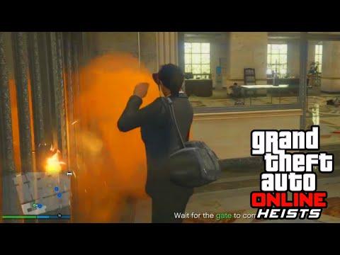 GTA 5 Heist Online Gameplay - THE FINAL BANK HEIST! (GTA 5 DLC Update)