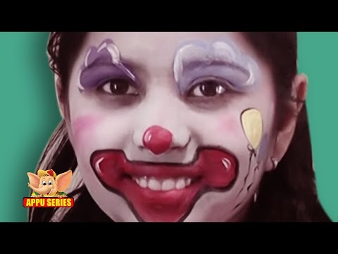 Face Painting - Easy way to paint a Clown