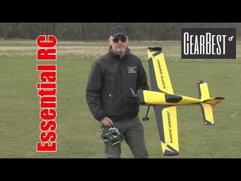 RocHobby MXS 3D ARTF: ESSENTIAL RC FLIGHT TEST (GearBest.COM)