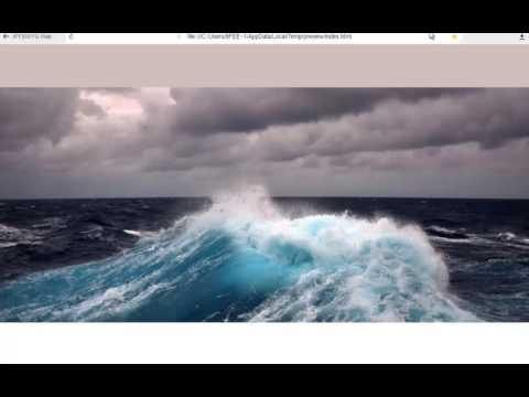 Плавающее меню в Web Builder