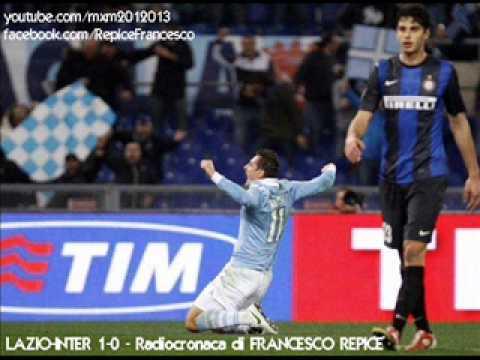 LAZIO-INTER 1-0 - Radiocronaca di Francesco Repice (15/12/2012) da Radiouno RAI