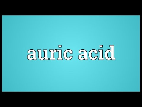 Header of auric acid