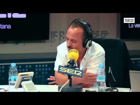 Javier Gutiérrez, en 'Todo por la radio'. Cadena SER