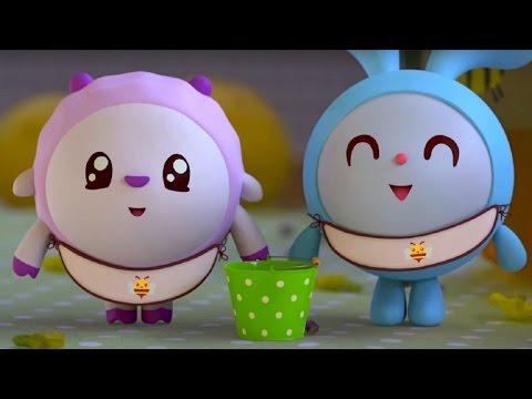 Малышарики - Пчелка - серия 45 - обучающие мультфильмы для малышей 0-4