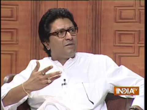 Raj Thackeray Explains Why He Opposes Influx Of Bihar, Up People In Aap Ki Adalat video