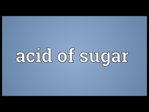 Header of Acid of Sugar
