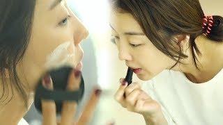 장희진, 매력만점 여배우의 초스피드 화장 '꿀피부 자랑' @살짝 미쳐도 좋아 15회 20180211