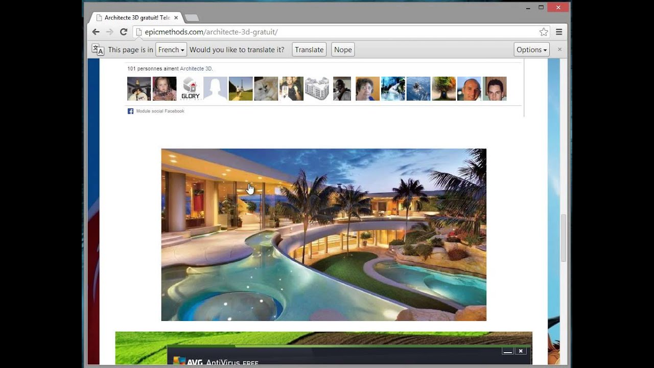 Crack architecte 3d gratuit telecharger youtube for Architecte 3d plan maison architecture