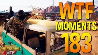 PUBG Funny WTF Moments Highlights Ep 183 (playerunknown's battlegrounds Plays)