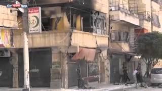 الجيش السوري يكثف القصف على حلب