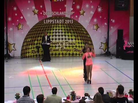 Carolin Steinberger & Tobias Planer - Deutschland Cup 2013