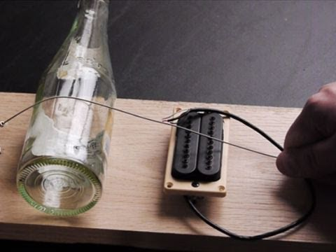 Build a Simple Electric Guitar in 10 minutes (Diddley Bow) Music Videos