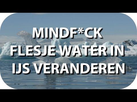 Mindf*ck - Flesje water laten bevriezen (door te schudden)